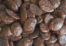 Chocolate cornflake royalty free stock image