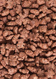 Chocolate cornflakes Stock Image