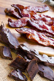 Chocolate covered bacon Royalty Free Stock Photography