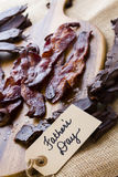 Chocolate covered bacon Royalty Free Stock Photo