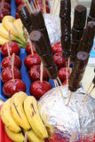 Chocolate Covered Bananas Royalty Free Stock Image