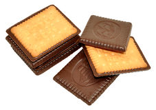 Chocolate Covered Biscuits Stock Image