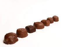 Chocolate Covered Candies Stock Photography