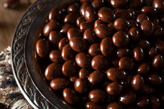 Chocolate Covered Espresso Coffee Beans. Ready to Eat stock image
