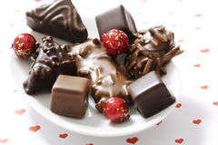 Chocolate covered gingerbread Royalty Free Stock Photos