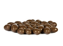 CHOCOLATE-COVERED PEANUTS Stock Photo