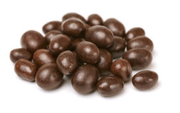 Chocolate covered peanuts Stock Image