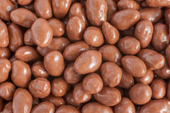 Chocolate Covered Peanuts Stock Images