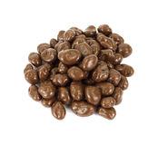 Chocolate covered raisins Stock Photos
