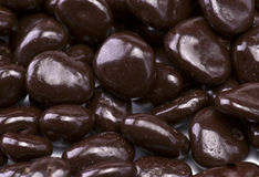 Chocolate covered raisins Royalty Free Stock Photo