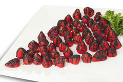 Chocolate-covered strawberries Royalty Free Stock Photography
