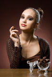 Chocolate cravings. Royalty Free Stock Photos