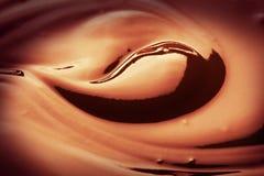 Chocolate cream royalty free stock photo