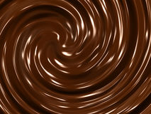 Chocolate cream background Royalty Free Stock Images