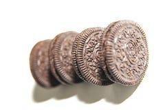 Chocolate cream biscuit Stock Image