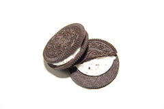 Chocolate cream biscuit Royalty Free Stock Photo