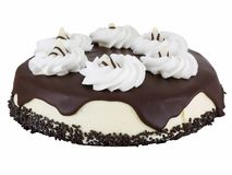 Chocolate cream cheese cake Royalty Free Stock Photography
