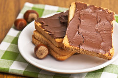 Chocolate cream Royalty Free Stock Photos