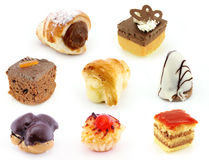 Chocolate and cream delight Stock Images