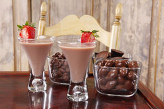 Chocolate cream liquor royalty free stock photography