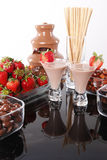 Chocolate cream liquor stock photo