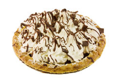 Chocolate cream pie Royalty Free Stock Image