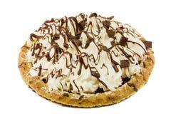 Chocolate cream pie Royalty Free Stock Image