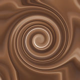 Chocolate Cream Swirl stock images
