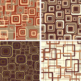 Chocolate and cream textures. Royalty Free Stock Photography