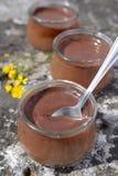 Chocolate cream Stock Photos