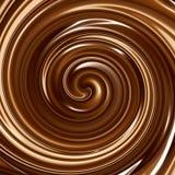 Chocolate cremoso stock de ilustración