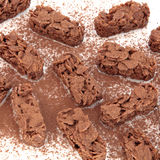 Chocolate Crispy Biscuits Royalty Free Stock Image