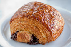 Chocolate Croissant Royalty Free Stock Image