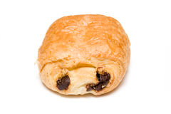 Chocolate croissant Royalty Free Stock Images