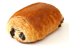 Chocolate croissant Royalty Free Stock Photos