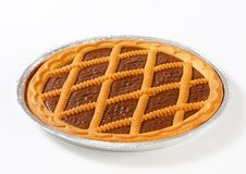 Chocolate crostata Stock Photography