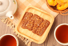 Chocolate crunch Royalty Free Stock Images