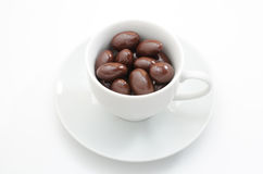 Chocolate in the cup Stock Image