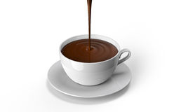 Chocolate cup Royalty Free Stock Images