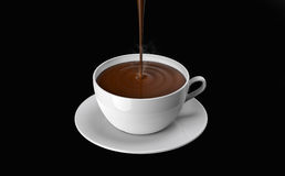 Chocolate cup Royalty Free Stock Photo