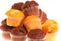 Chocolate cup cakes Stock Image