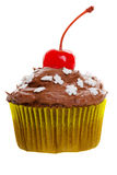 Chocolate cupcake Stock Image