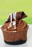 Chocolate cupcake Royalty Free Stock Photography