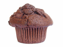 Chocolate cupcake. Homemade baked brown Chocolate cupcake / muffin Stock Photography