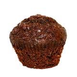 Chocolate Cupcake. Isolated on white Stock Photos