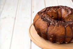 Chocolate cupcake with chocolate icing Stock Photo
