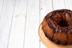Chocolate cupcake with chocolate icing Stock Photography