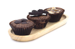 Chocolate Cupcake with Chocolate Sprinkles. Royalty Free Stock Photography