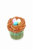 chocolate cupcake easter Стоковые Фото