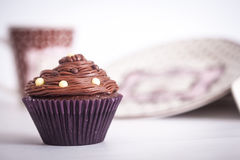 Chocolate Cupcake Royalty Free Stock Image